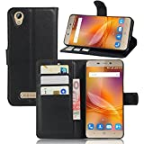 Guran Housse En Cuir pour ZTE Blade A452 Smartphone Flip Cover Etui Debout Fonction et Fente Porte-cartes Cas