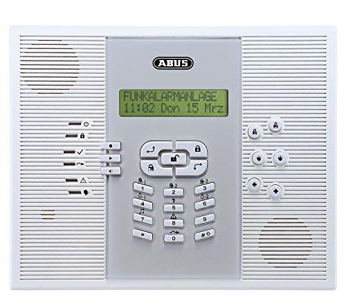ABUS Funk-Alarmanlage Privest Zentrale FUAA30010A, weiß, 37204