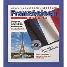 Französisch CD-Sprachkurs, 4 CD-Audio m. Lehr-/Arbeitsbuch