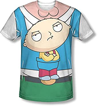 Family guy mens stewie carrier t shirt for Family guy t shirts amazon