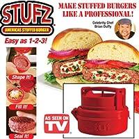 Stufz Stuffed Burger Press Grill BBQ Patty Maker For Hamburger Juicy As Seen On TV by Repasil