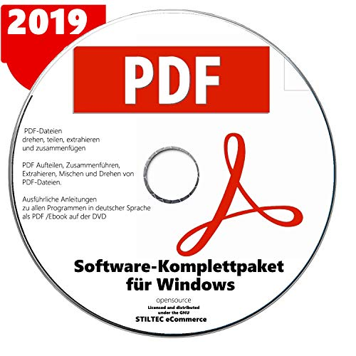 PDF Paket PREMIUM für Windows 10 ® WINdows 7+WINdows 8 +Vista +XP Ersteller Konvertierer NEUWARE