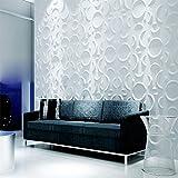 Yazi 3d de revestimiento de pared azulejos Shop Store fondo Art Panel papel pintado 16Color 300x 300mm