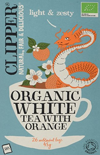 A photograph of Clipper organic white