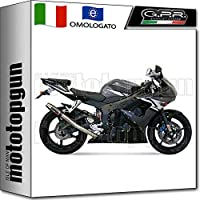 GPR - Tubo de Escape Alto de Acero Inoxidable para Yamaha YZF R6 2003 03 2004