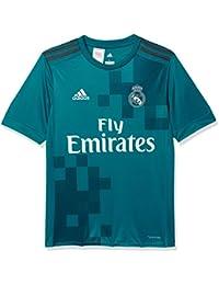 Adidas 3 JSY Y Camiseta, niños, Azul (azuint/gripur / Blanco)