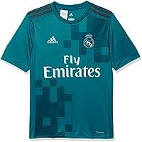 Adidas Real Madrid Camiseta de Equipación, Niños, Azul (azuint/gripur / Blanco), 140-9/10 años