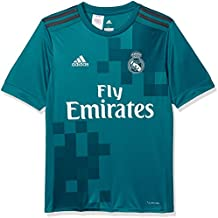 Adidas Real Madrid Camiseta de Equipación, Niños, Azul (azuint/gripur/Blanco