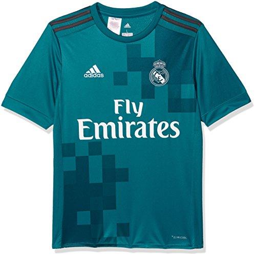 Adidas Real Madrid Camiseta de Equipación, Niños, Azul (azuint/gripur / Blanco), 152-11/12 años