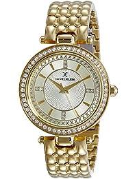 Daniel Klein Analog Gold Dial Women's Watch-DK11004-4