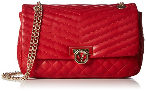 valentino-margaritas-sacs-baguette-femme-rouge-rot-rosso-26x15x6-cm-b-x-h-x-t