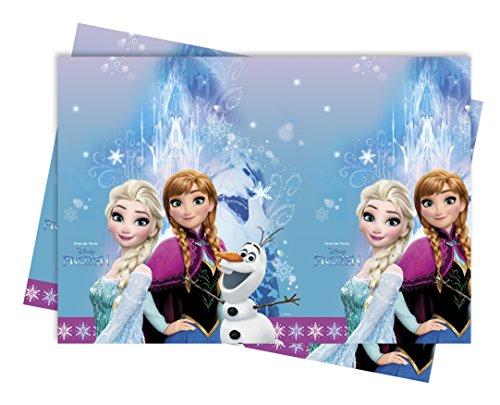 * Frozen Northern Lights Kindergeburtstag oder Motto-Party // Party Table Cover Motto Eiskönigin Frozen Olaf ELSA Anna ()