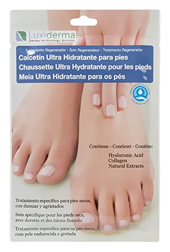 Luxiderma COS 410 Calcetín ultra hidratante - 2 calcetines