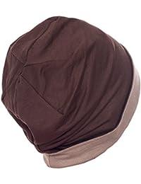 Unisex reversible Beanie für Haarausfall, Krebs, Chemo