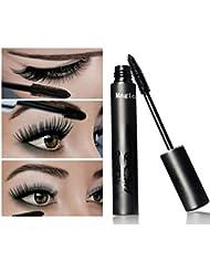 Fashion Base Magical Halo Mascara Waterproof Black Mascara Eyelashes Thick Lengthening Curling Makeup Mascara Colossal Non-smudge