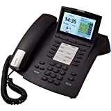 Agfeo system phone ST 45, black - for classics-Anlage ab Firmware 9.0 and elements-Anlagen ab Firmware 1.1, bewegliches 4,3