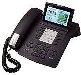Agfeo ST45 Systemtelefon für Büroprofis (10,9 cm (4,3 Zoll) Display, VIPlight, Timerfunktion) schwarz