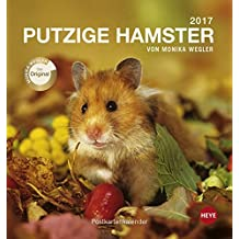 Putzige Hamster 2017. Postkartenkalender