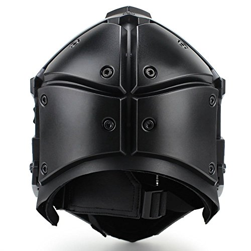 Full-covered taktischen Outdoor Motorrad Helm mit Maske Schutzbrille für Jagd Paintball Military Cosplay Movie Prop - 3