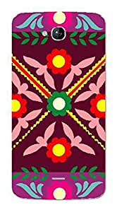 UPPER CASE™ Fashion Mobile Skin Vinyl Decal For Micromax Canvas A108 [Electronics]