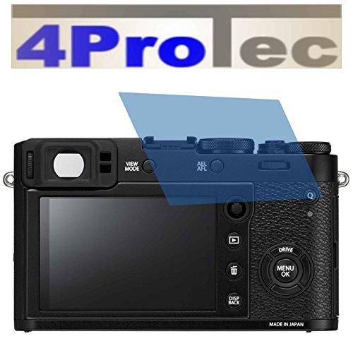 2x Crystal clear klar Schutzfolie für Fujifilm X100F Premium Displayschutzfolie Bildschirmschutzfolie Schutzhülle Displayschutz...