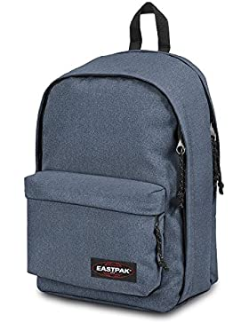 Eastpak Rucksack Back To Work Blau 43x30x25cm Polyester Stoff mit Laptop fach 15 Zoll Bowatex