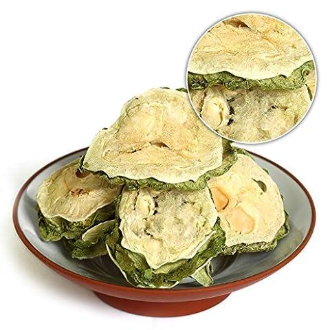 GOARTEA® 100g (3.5 Oz) Organic Premium Natural Bitter Gourd * KuGua * Bitter Melon Tea Gohyah Chinese Herbal