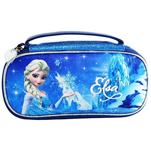 Disney Frozen Elsa Astuccio Kit Scrittura Borsetta Bambina per Cancelleria con Manico