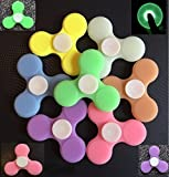 Hand Spinner Silicone incassable - Anti-Stress Adulte - Fluorescent
