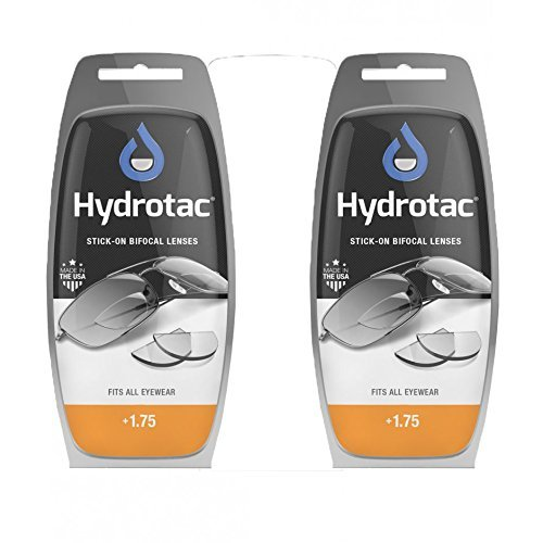 Hydrotac Stick-on Bifocal Lenses (OPTX 20/20) - +1.75 Diopter by Neoptx