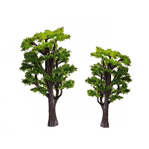 kingwin 31: 50Micro grün Baum Modellbau Landschaft Landschaft 10cm