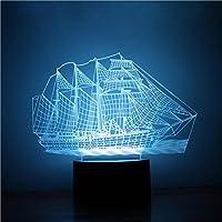 3D Poker Illusions LED Lampen Tolle 7 Farbwechsel Acryl ber/ühren Tabelle Schreibtisch-Nachtlicht mit USB-Kabel f/ür Kinder Schlafzimmer Geburtstagsgeschenke Geschenk