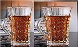 #10: Estycal Roman style Tea Cups - Set of 6 (320 ml)