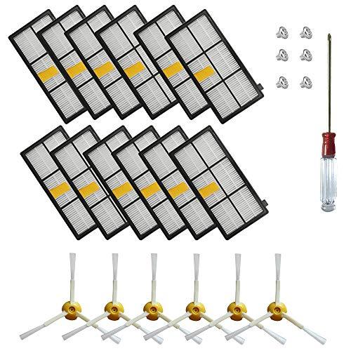 JUMBO FILTER Jumbo filtro kit accessori per iRobot Roomba 600 series on