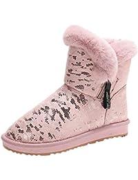 Suchergebnis auf für: fellstiefel Pink Stiefel
