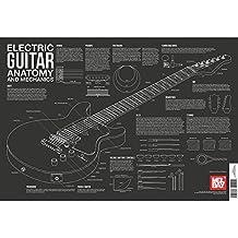 Mel Bay Guitare électrique Anatomie et de la mécanique Tableau