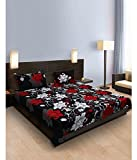 #5: TW TenTwo Cotton Double Bedsheet with 2 Pillow Covers