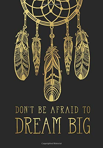 Big Glitter Dots (Don't Be Afraid To Dream Big: A Black Page Dot Grid Notebook for Unleashing Your Creativity and Imagination (Dotted Black Paper Notebooks and Journals, Band 1))