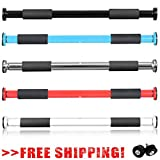 Exercise Door Bar Pull Chin Up Home Gym Fitness Strength Training workout 100cm (Blue)