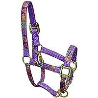 Rosso Haute Cavallo PJ Pet Products Crazy Cuori design alta moda Premier qualità testa di cavallo collare, Piccolo