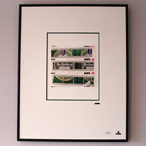 Martin Allen can Art - Heineken film Cell in large aluminum frame