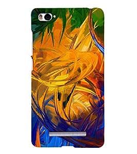 EPICCASE Modern Art Mobile Back Case Cover For Xiaomi Redmi Mi4i (Designer Case)