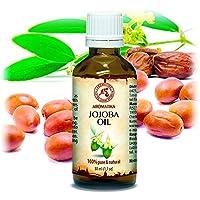 Jojobaöl Gold Nativ 50ml - Simmondsia Chinensis Seed Oil - Argentinien - 100% Naturrein & Reines Jojoba Öl - Glasflasche... preisvergleich bei billige-tabletten.eu