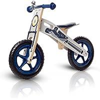 KinderKraft - Bici Senza Pedali In Legno Con Borsa E Campanello In 2 Colori