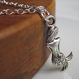 Halskette aus KorkAventurin Bronzefarben