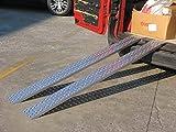 Auffahrschienen ohne Rand - Gerade (2990mm lang x 300mm breit x 1000kg Kapazität)