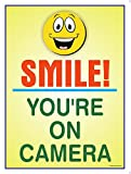 #2: The Kitabwala Sign You'Re On Camera Poster Sign (9