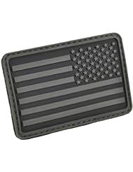 Hazard 4 3D USA Flag Moral Patch (Droit Gauche) Noir Gris