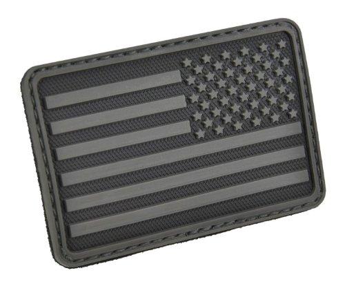Hazard 4 Abzeichen USA Flag Right Arm Morale Patch, PAT-R-BLK