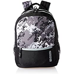American Tourister 27 Ltrs Black Casual Backpack (AMT CRUNK 2017 BKPK 04- BLACK)
